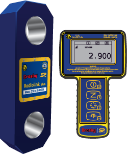 ATEX radiolink wireless load cell with handheld