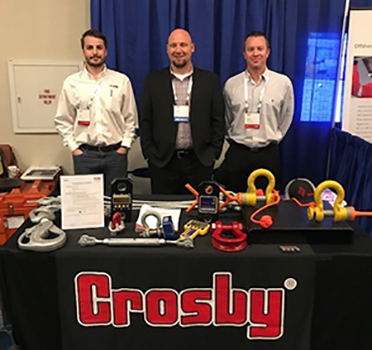 Crosby SPs Orsak Presents at Offshore Safe Lifting Conference